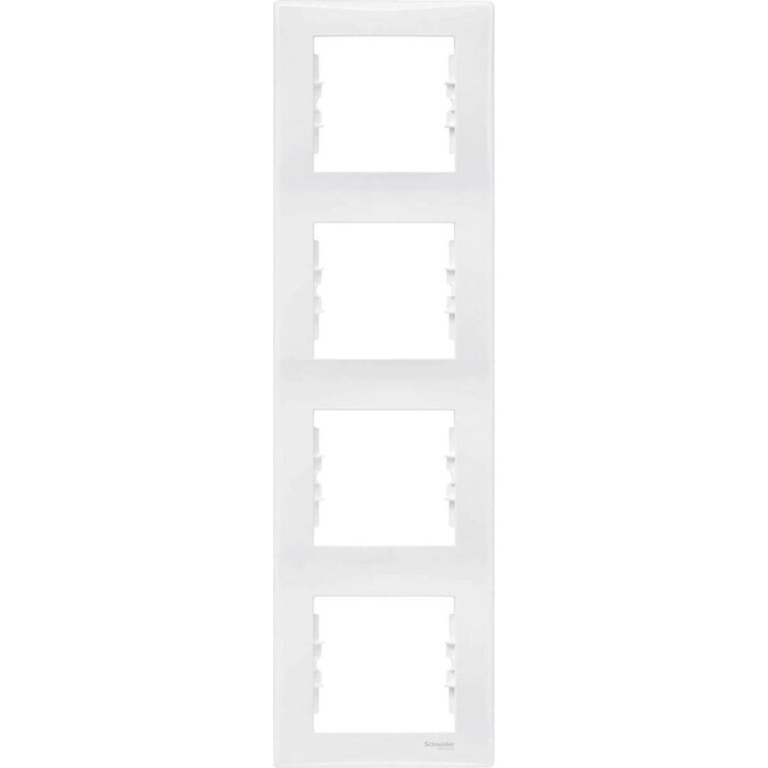 Рамка Schneider Electric 4-постовая вертикальная Sedna SDN5802021