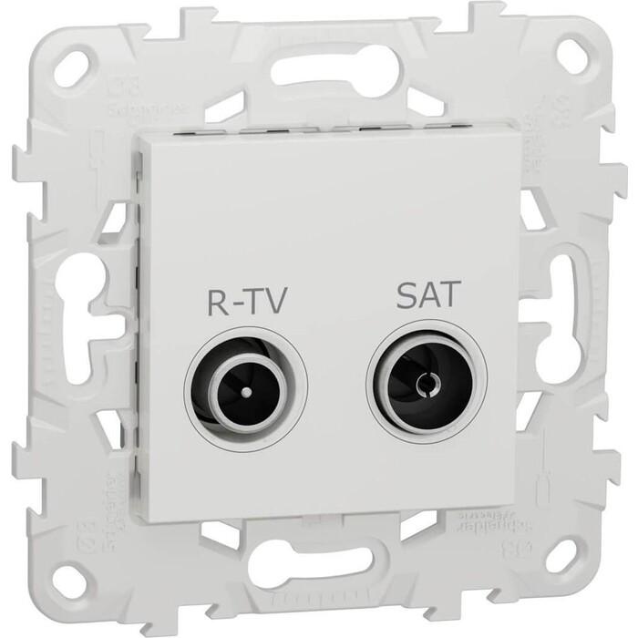 Розетка Schneider Electric R-TV/SAT одиночная Unica New NU545418