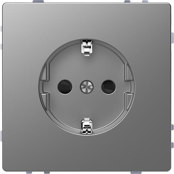 Фото - Розетка Schneider Electric Merten D-Life 16A с/з и шторками MTN2300-6036 розетка schneider electric merten system m с з и шторками mtn2300 0319