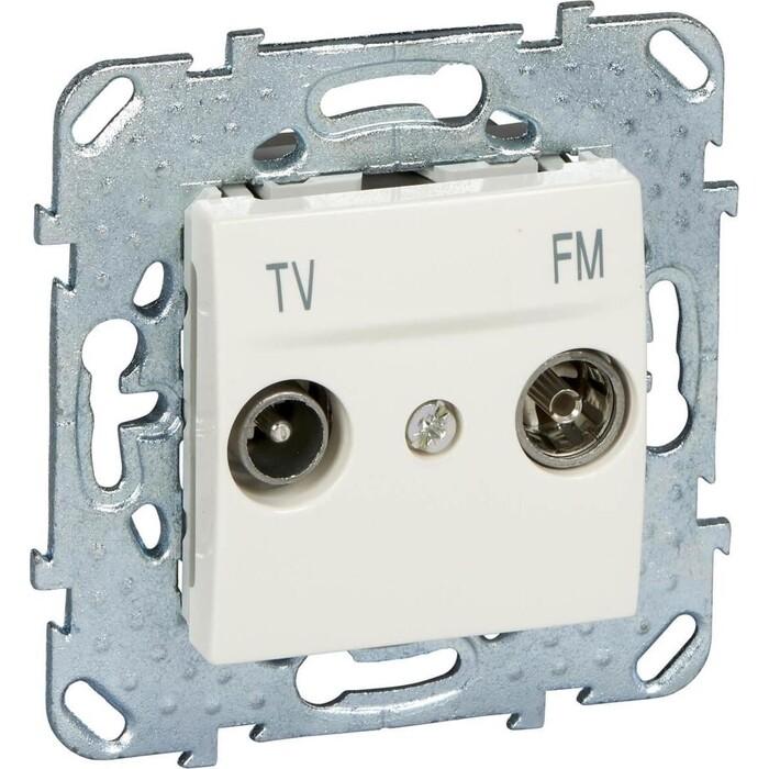 Розетка Schneider Electric TV-FM одиночная Unica MGU5.451.25ZD