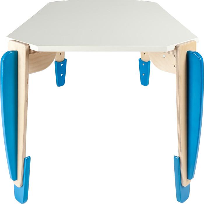 Стол детский трапеция Belsi Эдди (ростовка 2-3, 520-580 мм) голубой