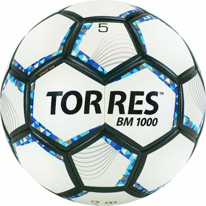 Мяч футбольный Torres BM1000 размер 5 арт. F320625 мяч torres t pro футбольный арт f320995 размер 5