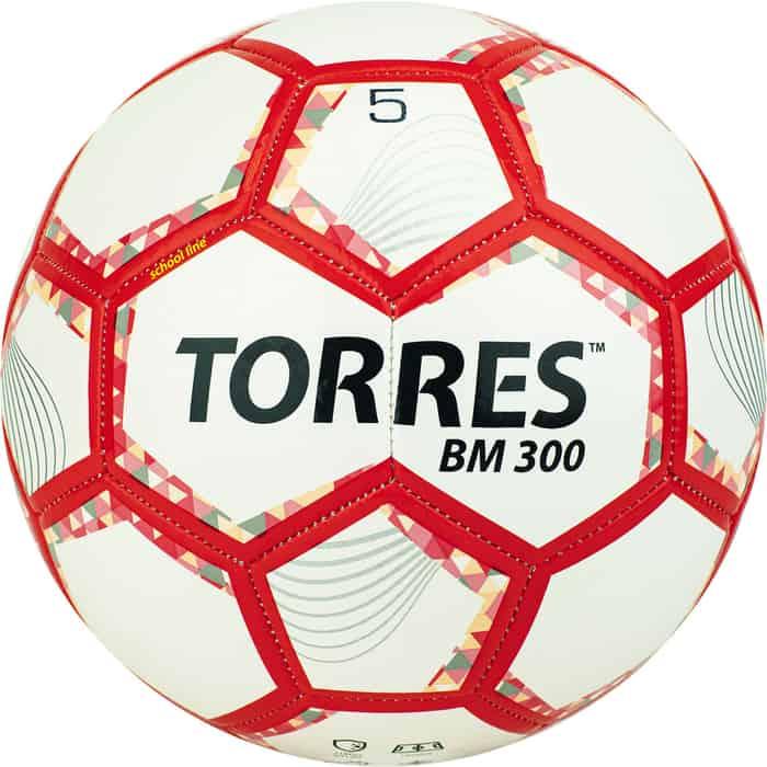 Мяч футбольный Torres BM300 размер 5 арт. F320745 мяч torres t pro футбольный арт f320995 размер 5