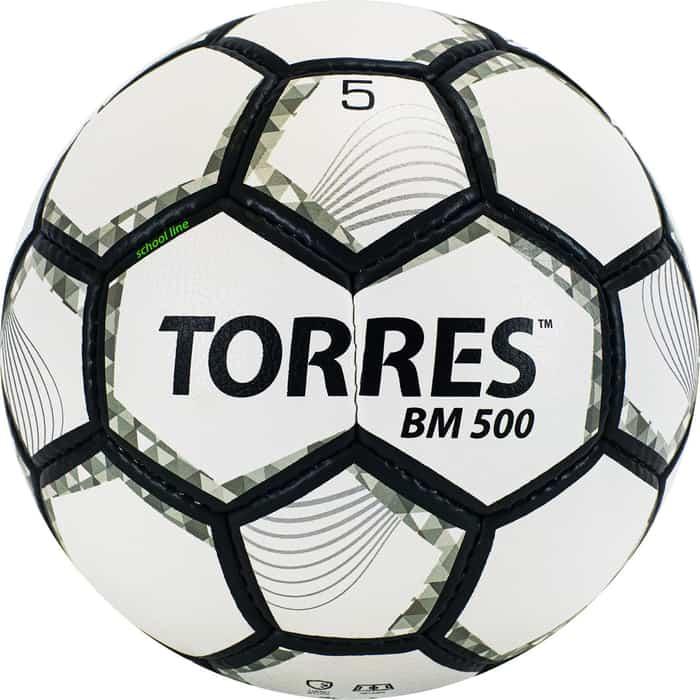 Мяч футбольный Torres BM500 размер 5 арт. F320635 мяч torres t pro футбольный арт f320995 размер 5