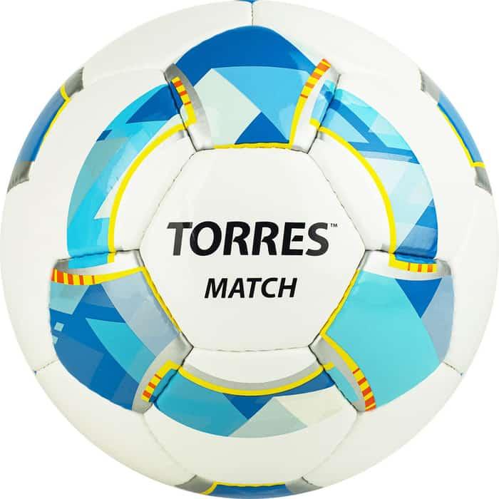 Мяч футбольный Torres Match размер 5 арт. F320025 мяч torres t pro футбольный арт f320995 размер 5