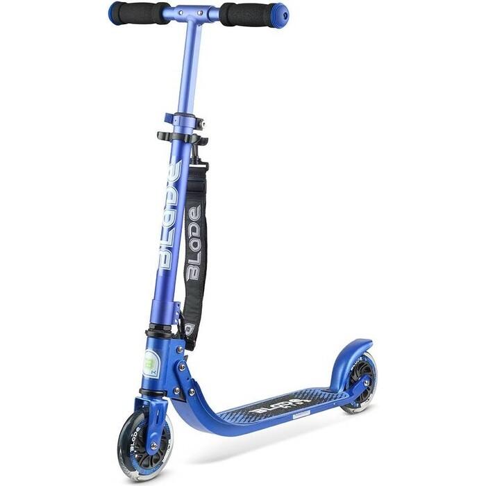 Двухколесный самокат Blade Sport Kids Jimmy 125, blue/metallik, светящиеся колеса