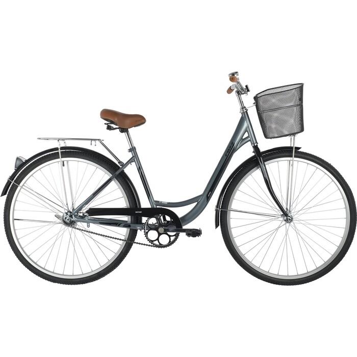 Велосипед FOXX 28 VINTAGE серый