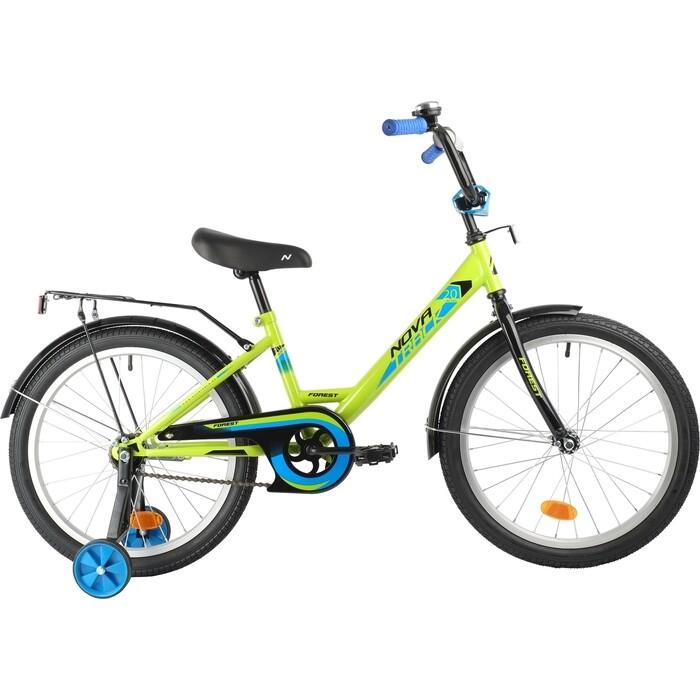 Велосипед NOVATRACK 20 FOREST зеленый