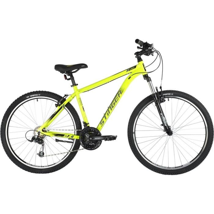 Велосипед Stinger 27.5 ELEMENT STD 18 зеленый