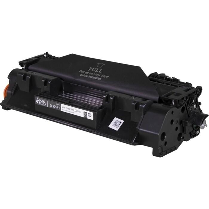 Картридж Sakura CE505A-P черный, 2300 к.