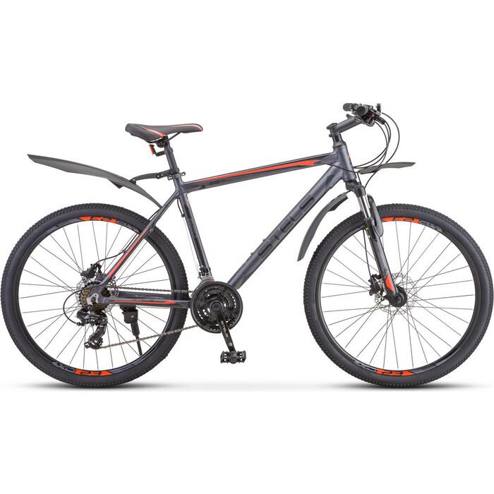 велосипед stels navigator 620 md 26 v010 19 тёмно синий Велосипед Stels Navigator-620 D 26 V010 19 Антрацитовый
