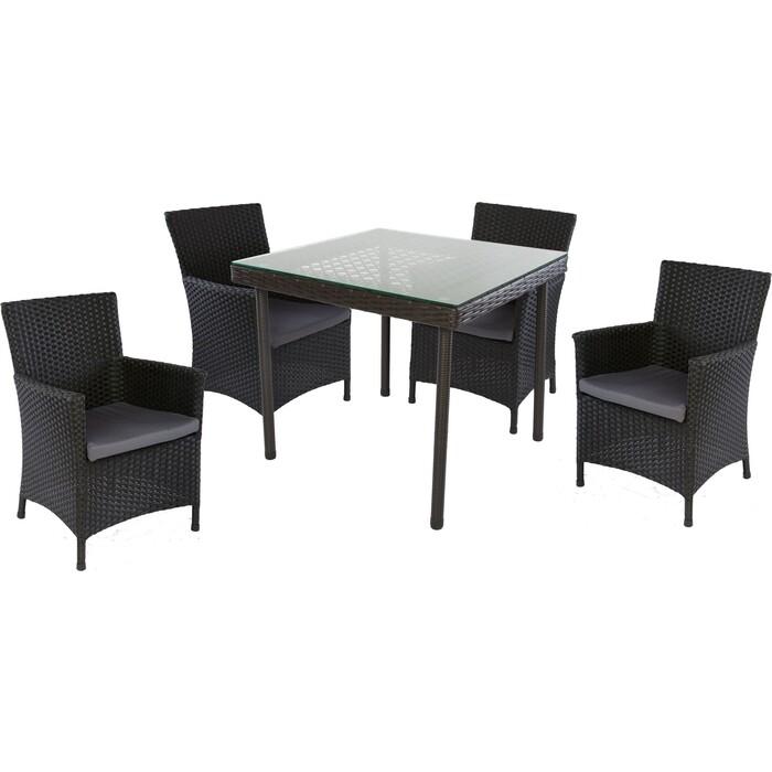 Комплект обеденный (стол и4 стула EcoDesign Munich KP20-01