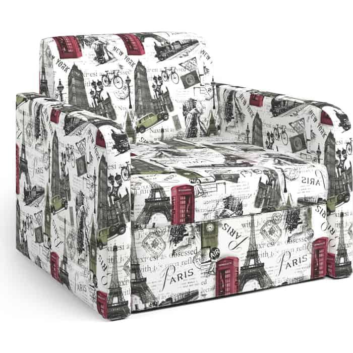 Шарм-Дизайн Кресло-кровать Куба велюр Париж