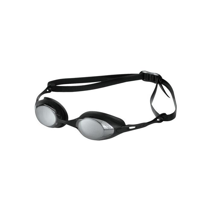 Очки для плавания Arena Cobra Mirror арт. 9235455, зеркальные черная оправа