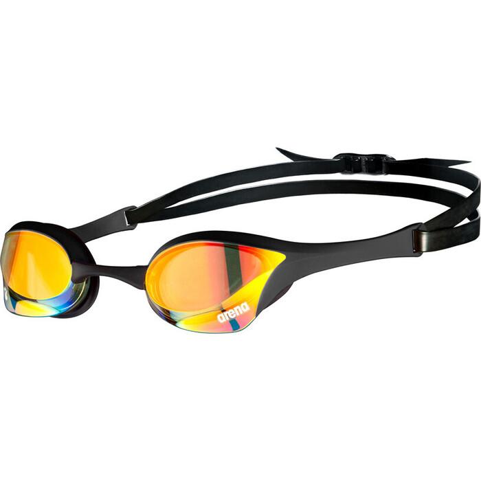 Очки для плавания Arena Cobra Ultra Swipe MR арт. 002507350, зеркальные черн оправа