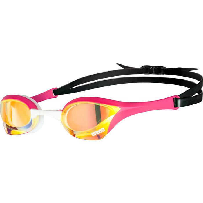 Очки для плавания Arena Cobra Ultra Swipe MR арт. 002507390, зеркальные роз оправа