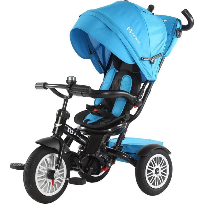 Фото - Трехколесный велосипед Farfello YLT-6188 Синий farfello автомобиль jj2198 синий