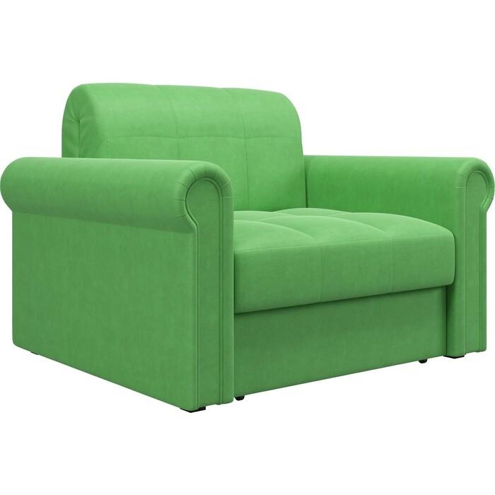 Кресло Агат Палермо 0.8 - Velutto 31 зеленый/кант Velutto 31 зеленый