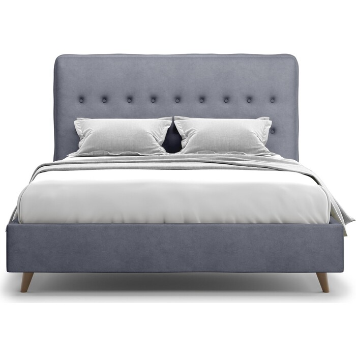 Кровать Агат Bergamo 160 Lux Velutto 32