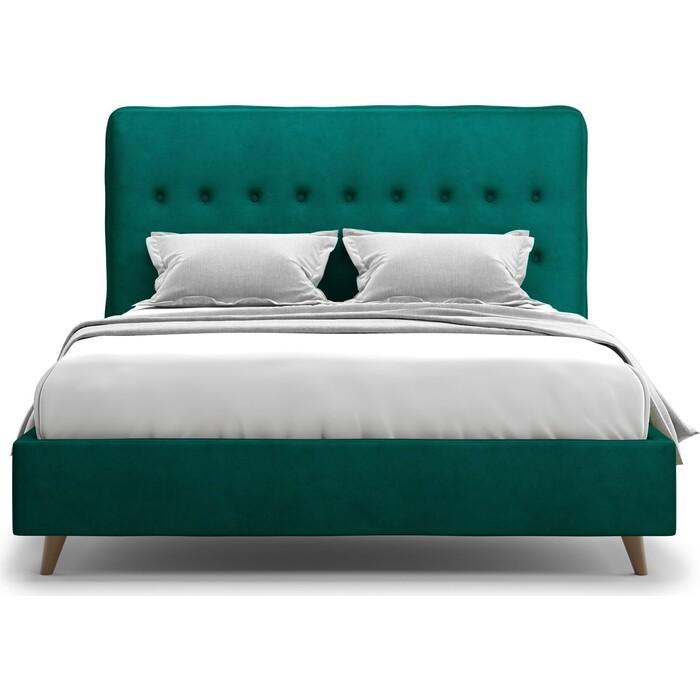 Кровать Агат Bergamo 160 Lux Velutto 33