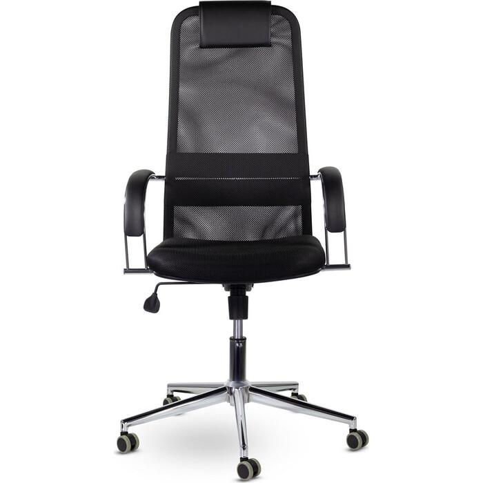 Кресло офисное Brabix Pilot EX-610 CH черное 532417