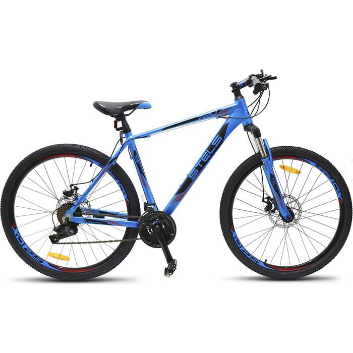 велосипед stels navigator 620 md 26 v010 19 тёмно синий Велосипед Stels Navigator-720 MD 27.5 V010 15.5 Синий