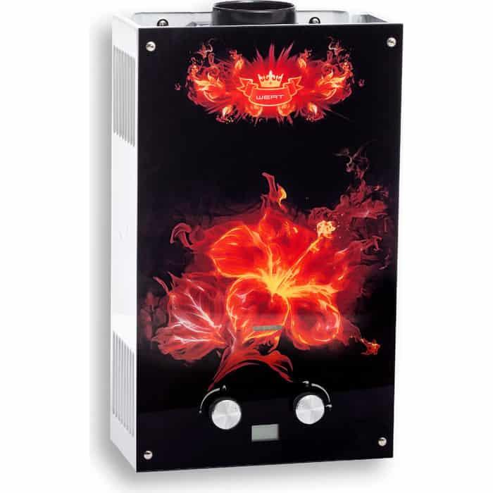 Газовый проточный водонагреватель Wert 10EG FLOWER