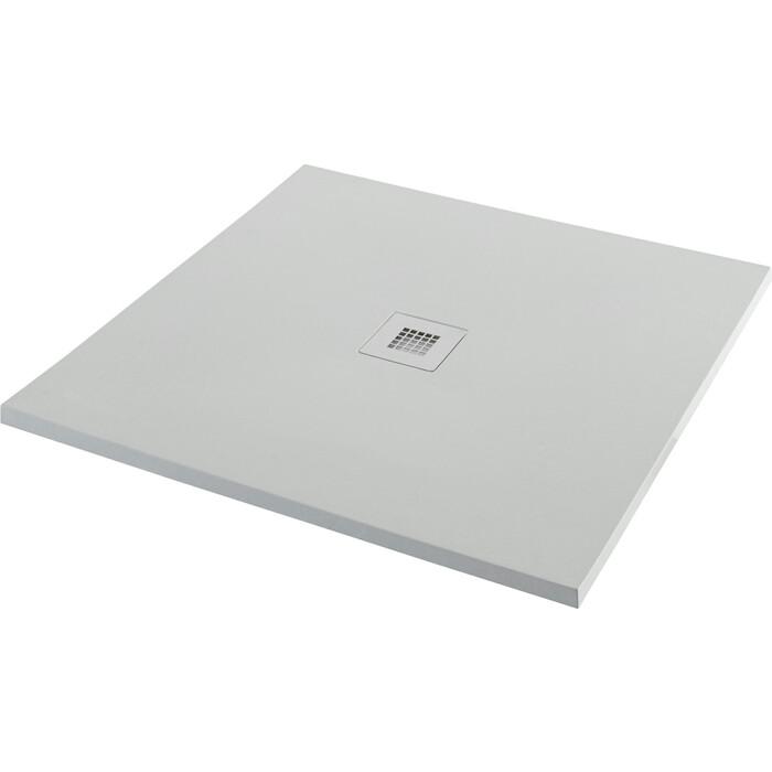 Душевой поддон Aquanet Pleasure 100x100 серый камень (258875)