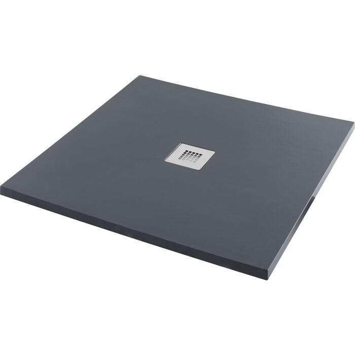 Душевой поддон Aquanet Pleasure 100x100 черный камень (258889)