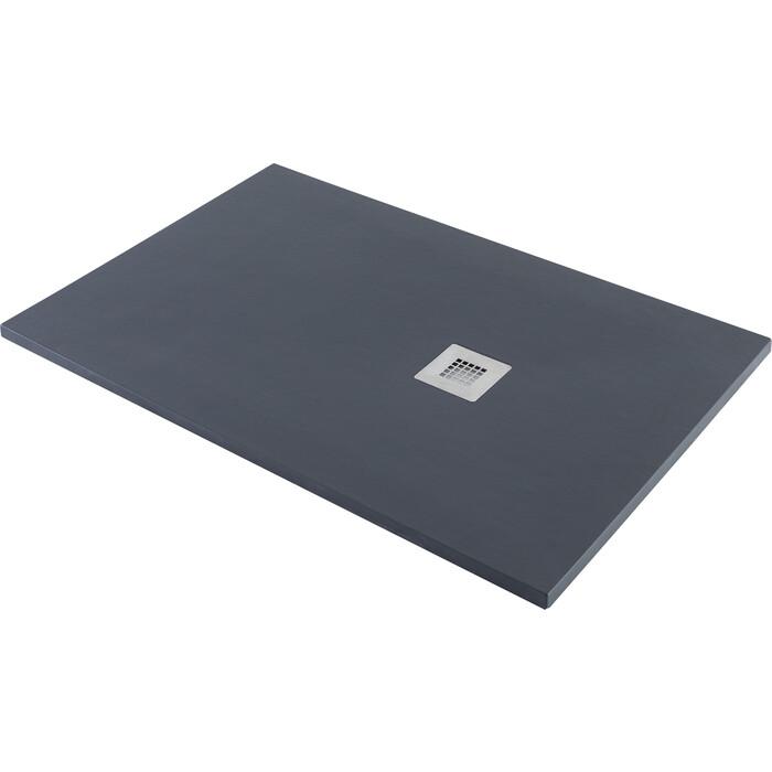 Душевой поддон Aquanet Pleasure 160x80 черный камень (258894)