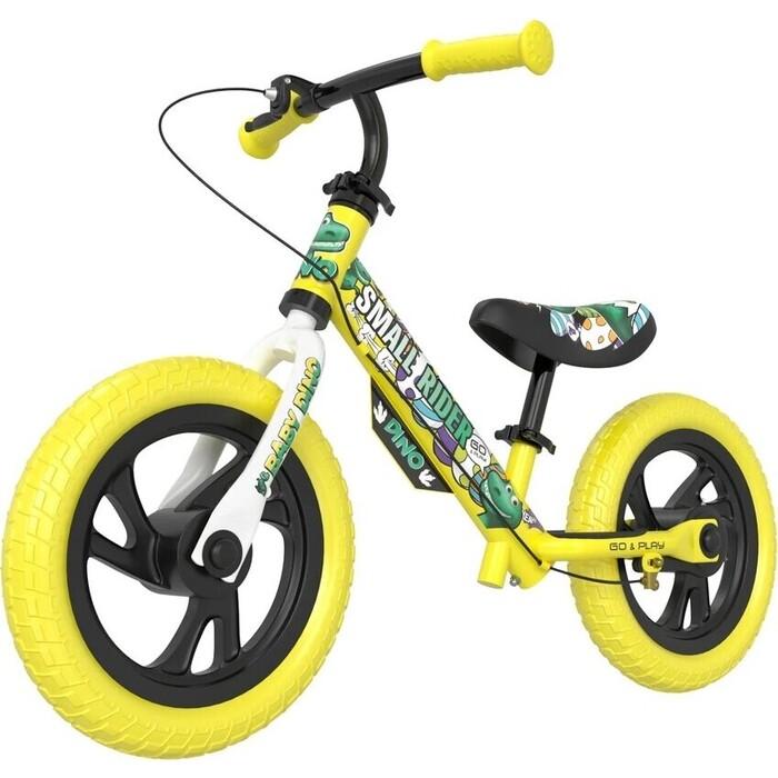 Беговел Small Rider Dino (EVA, желтый)