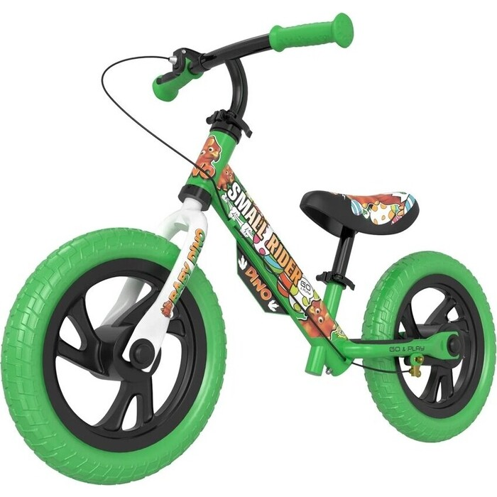 Беговел Small Rider Dino (EVA, зеленый)