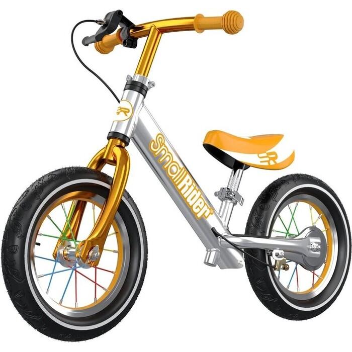 Беговел Small Rider Foot Racer 3 AIR (Серебро-бронзовый)