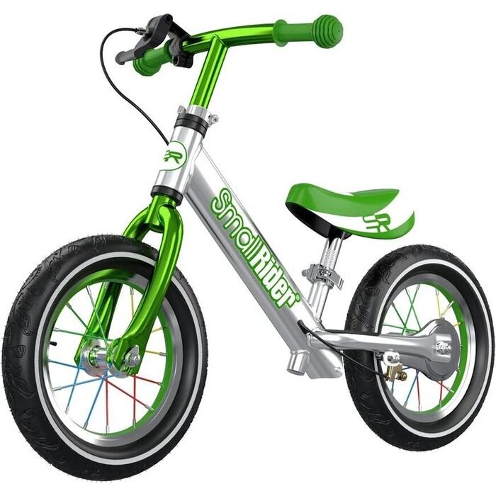 Беговел Small Rider Foot Racer 3 AIR (Серебро-зеленый)