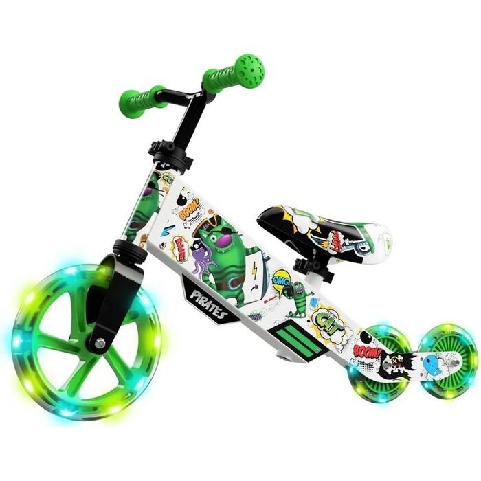 Беговел-трансформер Small Rider Turbo Bike (Зеленый)
