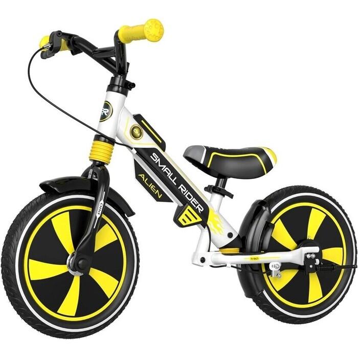 Беговел Small Rider Roadster Pro (AIR, желтый, 2021)