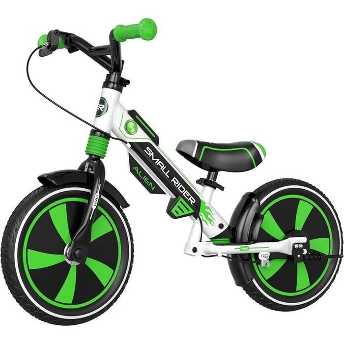 Беговел Small Rider Roadster Pro (AIR, зеленый, 2021)