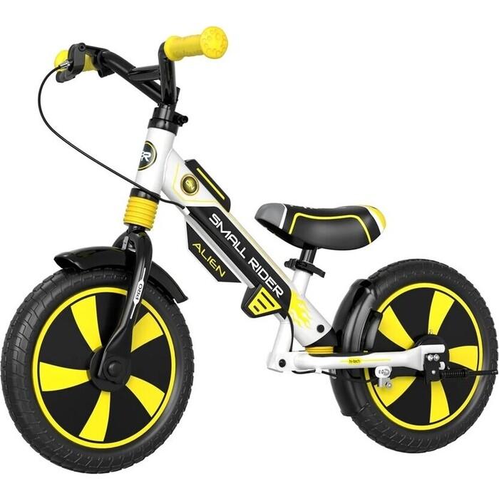 Беговел Small Rider Roadster Pro (EVA, желтый, 2021)