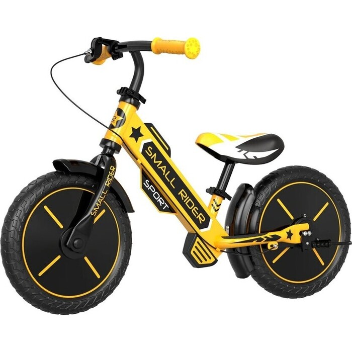 Беговел Small Rider Roadster Sport (EVA, желтый, 2021)