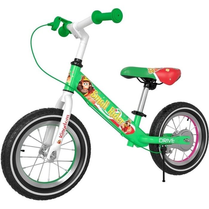Беговел Small Rider Drive 3 AIR (Зеленый) small rider тюбинг с сиденьем small rider snow cars 3 вм чёрно синие