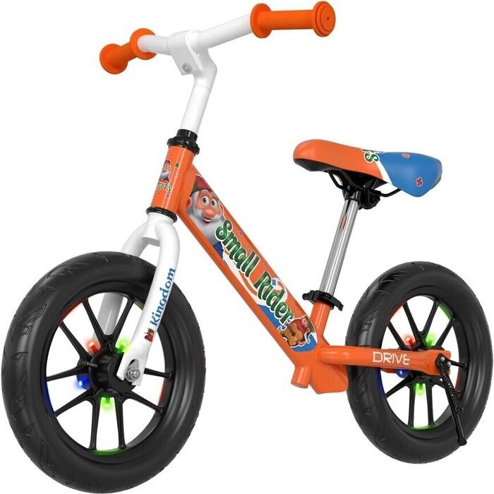 Фото - Беговел Small Rider Drive 3 Flash (Оранжевый) кикборд small rider cosmic zoo scooter оранжевый