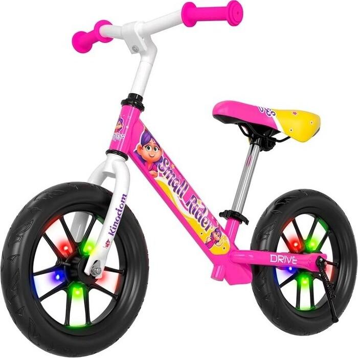 Беговел Small Rider Drive 3 Flash (Розовый)