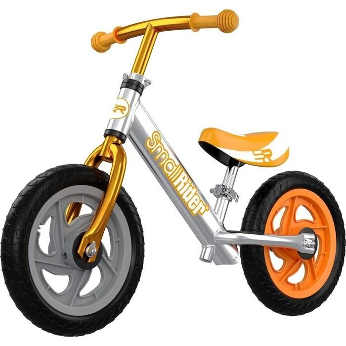 Беговел Small Rider Foot Racer 3 EVA (Серебро-бронзовый)