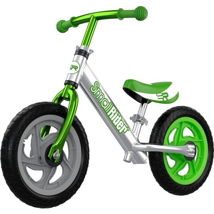 Беговел Small Rider Foot Racer 3 EVA (Серебро-зеленый)