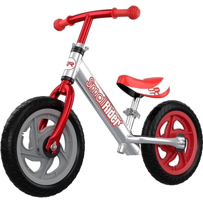 Беговел Small Rider Foot Racer 3 EVA (Серебро-красный)