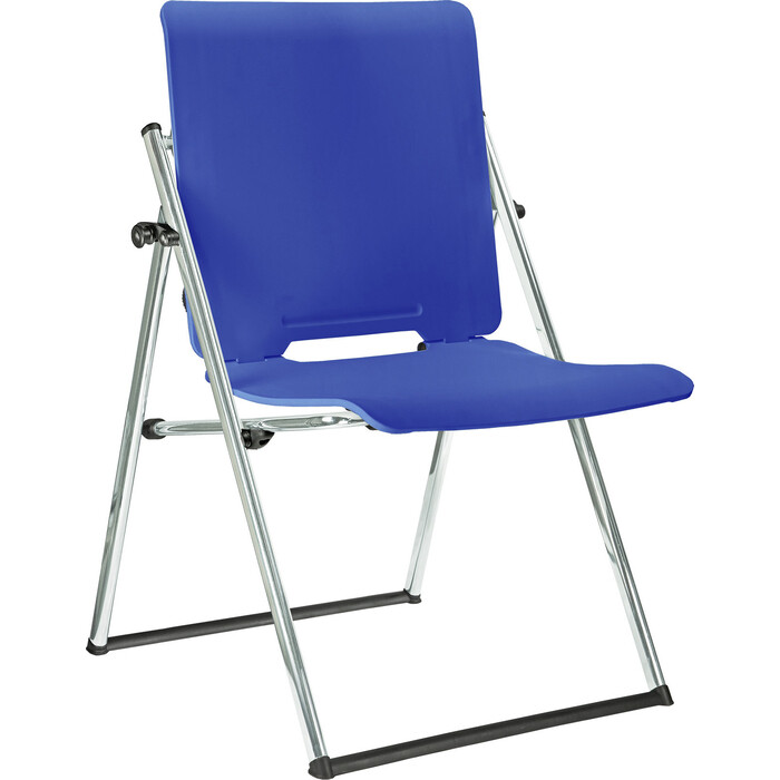 Кресло-трансформер Riva Chair RCH 1821 синий пластик хром