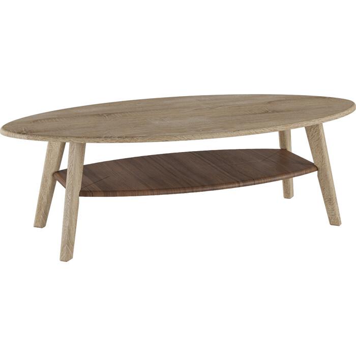 Стол журнальный Калифорния мебель Серфинг дуб сонома/акация