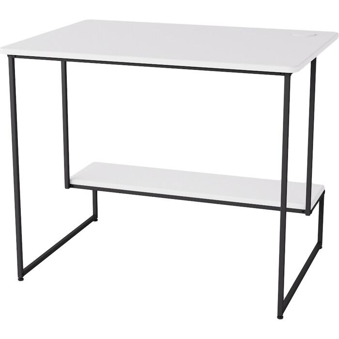 Стол компьютерный Калифорния мебель Скилл белый