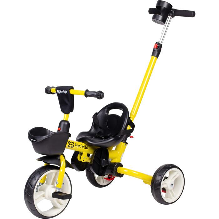 Трехколесный велосипед Farfello S-1601 Желтый