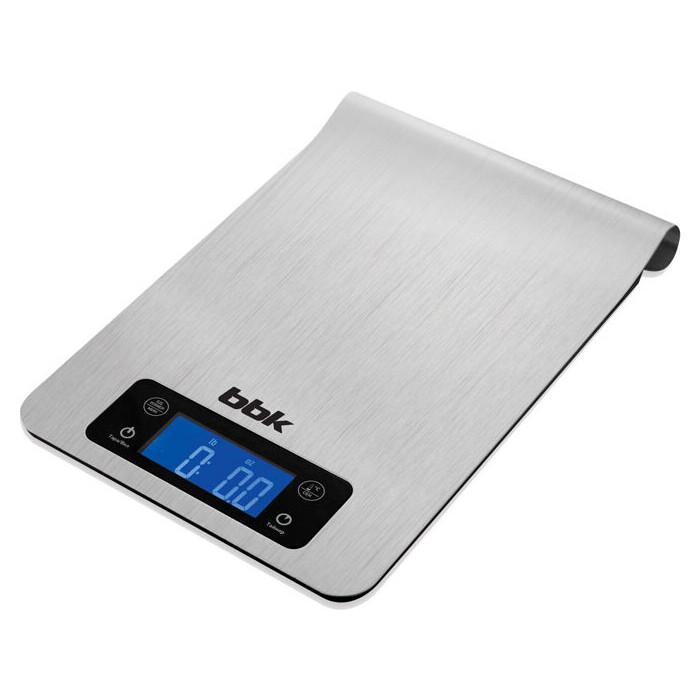 Весы кухонные BBK KS150M металлик